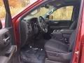 Jet Black Front Seat Photo for 2019 Chevrolet Silverado 1500 #130320496