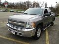 2013 Mocha Steel Metallic Chevrolet Silverado 1500 LT Crew Cab 4x4  photo #14