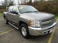 2013 Mocha Steel Metallic Chevrolet Silverado 1500 LT Crew Cab 4x4  photo #16
