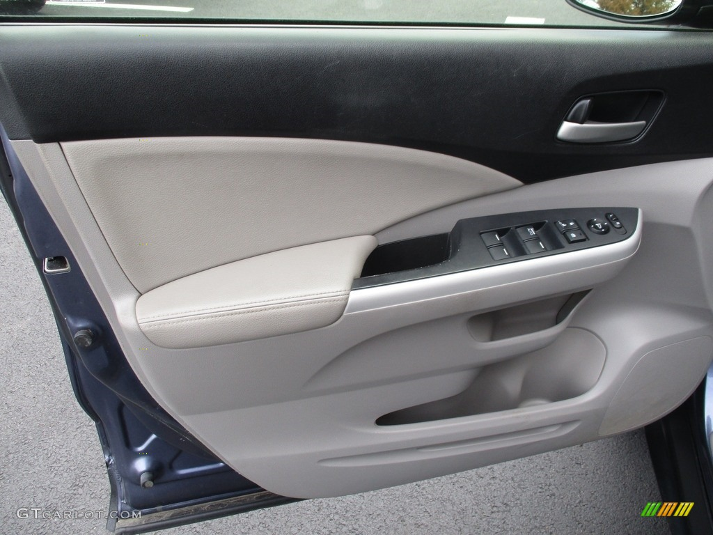 2012 CR-V EX-L 4WD - Twilight Blue Metallic / Gray photo #10