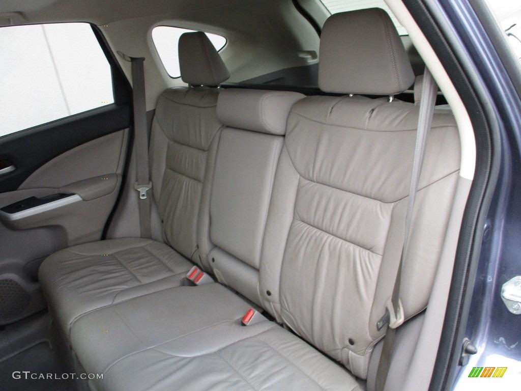 2012 CR-V EX-L 4WD - Twilight Blue Metallic / Gray photo #13