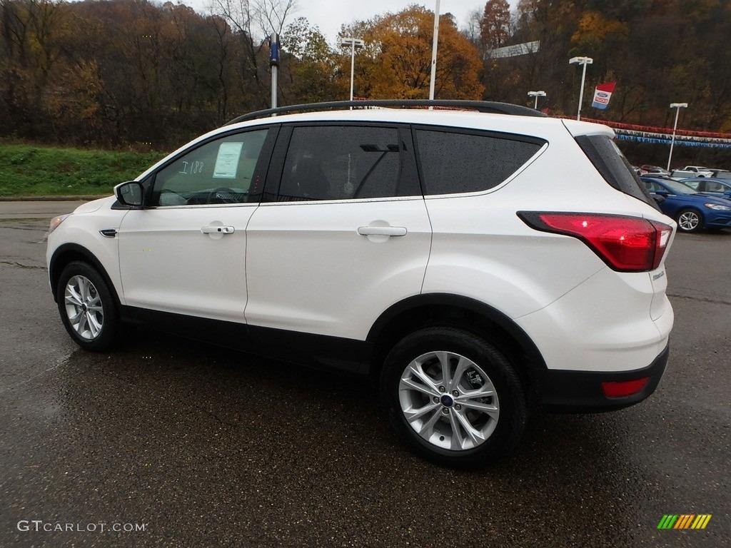 2019 Escape SEL 4WD - White Platinum / Chromite Gray/Charcoal Black photo #5