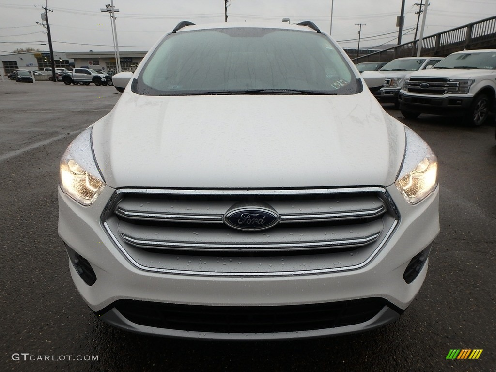 2019 Escape SEL 4WD - White Platinum / Chromite Gray/Charcoal Black photo #8