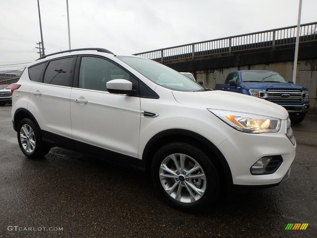 2019 Escape SEL 4WD - White Platinum / Chromite Gray/Charcoal Black photo #9