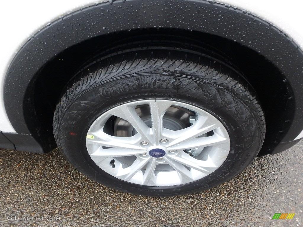 2019 Escape SEL 4WD - White Platinum / Chromite Gray/Charcoal Black photo #10
