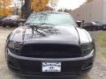 2014 Black Ford Mustang V6 Premium Coupe  photo #2