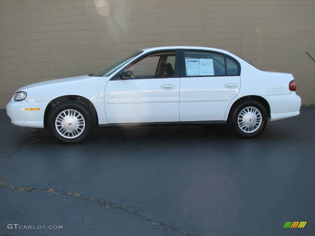chevrolet malibu sedan summit white color gray interior 2003 malibu ...