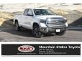 Super White 2019 Toyota Tundra Limited Double Cab 4x4