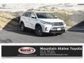 Blizzard Pearl White 2019 Toyota Highlander Hybrid XLE AWD