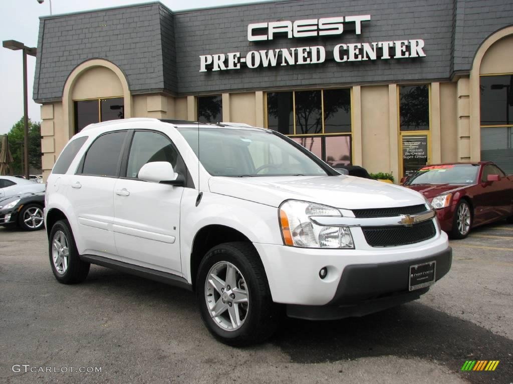 2006 Summit White Chevrolet Equinox LT AWD 13017793  GTCarLot