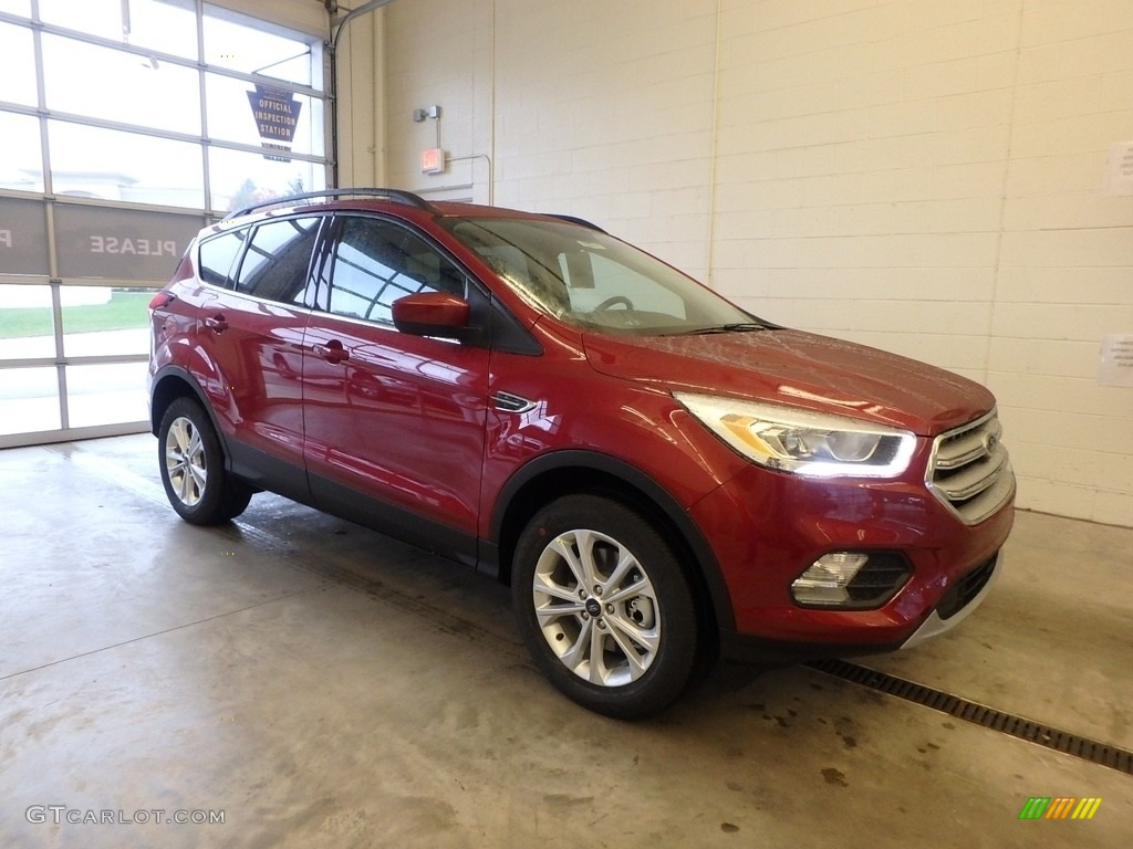 2019 Escape SEL 4WD - Ruby Red / Chromite Gray/Charcoal Black photo #1