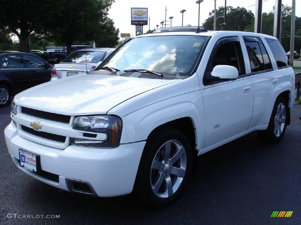 2006 summit white chevrolet trailblazer ss awd 12996525 car color galleries. Black Bedroom Furniture Sets. Home Design Ideas