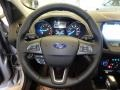 Chromite Gray/Charcoal Black Steering Wheel Photo for 2019 Ford Escape #130417469