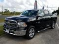 2017 Black Forest Green Pearl Ram 1500 Big Horn Crew Cab #130416336