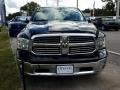 2017 Black Forest Green Pearl Ram 1500 Big Horn Crew Cab  photo #8