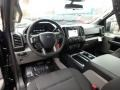 2019 F150 STX SuperCrew 4x4 Black Interior