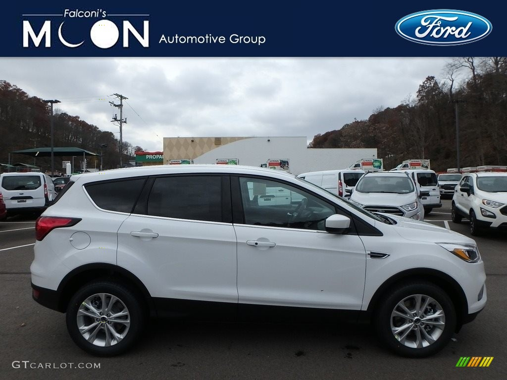 2019 Escape SE 4WD - Oxford White / Chromite Gray/Charcoal Black photo #1
