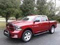 2012 Deep Cherry Red Crystal Pearl Dodge Ram 1500 Express Crew Cab 4x4  photo #2