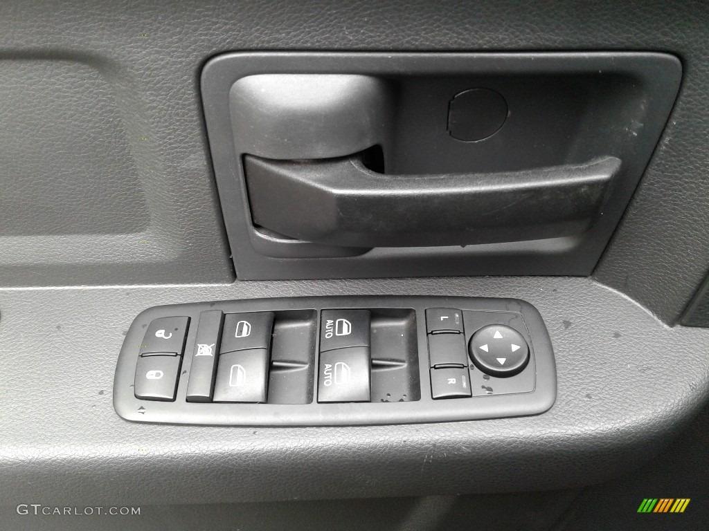2012 Ram 1500 Express Crew Cab 4x4 - Deep Cherry Red Crystal Pearl / Dark Slate Gray/Medium Graystone photo #9