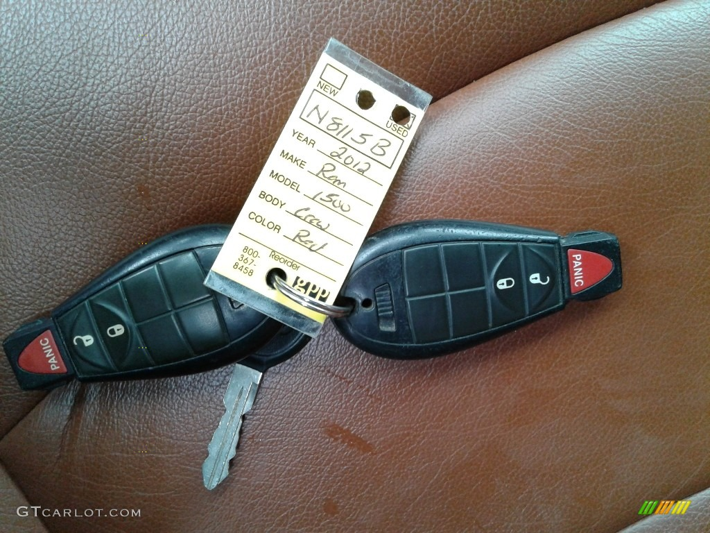 2012 Ram 1500 Express Crew Cab 4x4 - Deep Cherry Red Crystal Pearl / Dark Slate Gray/Medium Graystone photo #31