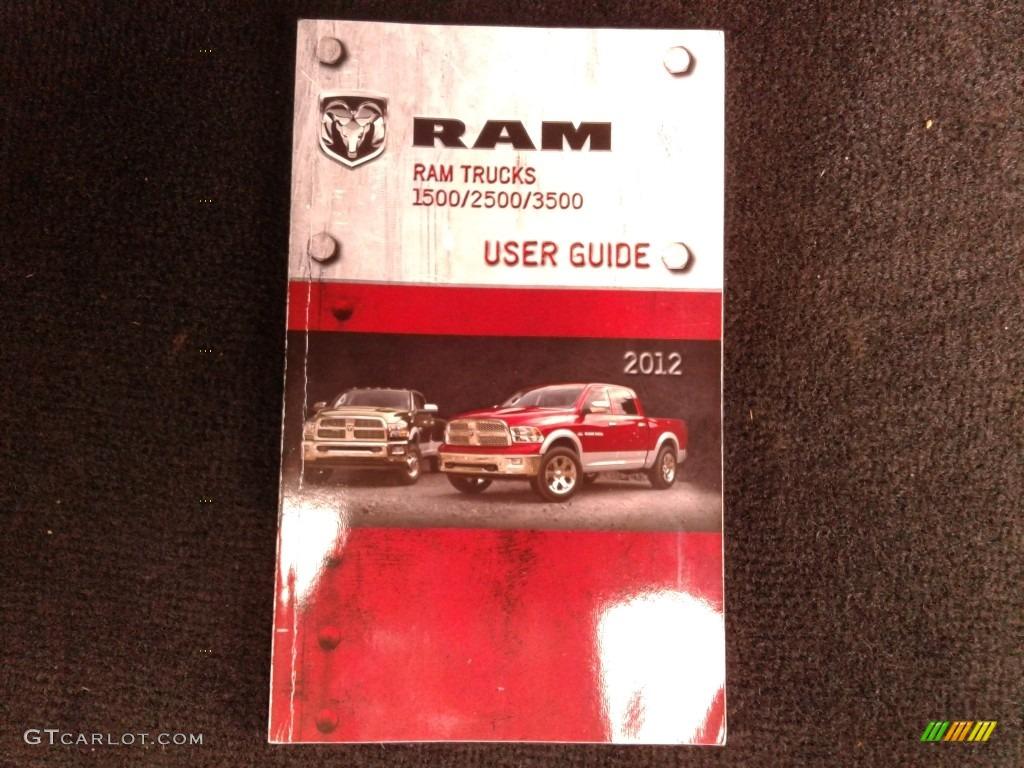 2012 Ram 1500 Express Crew Cab 4x4 - Deep Cherry Red Crystal Pearl / Dark Slate Gray/Medium Graystone photo #34