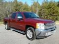 2013 Deep Ruby Metallic Chevrolet Silverado 1500 LT Crew Cab  photo #4