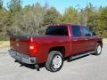 2013 Deep Ruby Metallic Chevrolet Silverado 1500 LT Crew Cab  photo #6