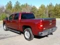 2013 Deep Ruby Metallic Chevrolet Silverado 1500 LT Crew Cab  photo #8
