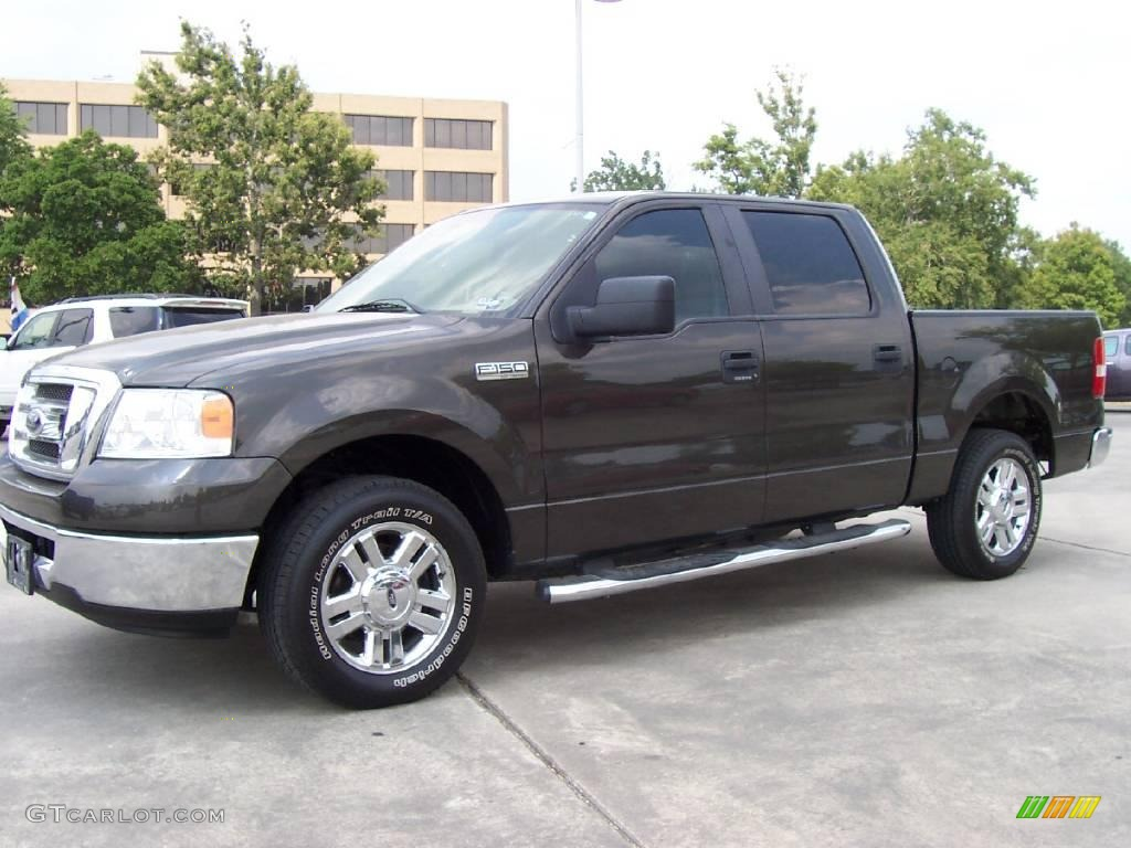2007 dark stone metallic ford f150 texas edition supercrew 13019031 gtcarlot com car color