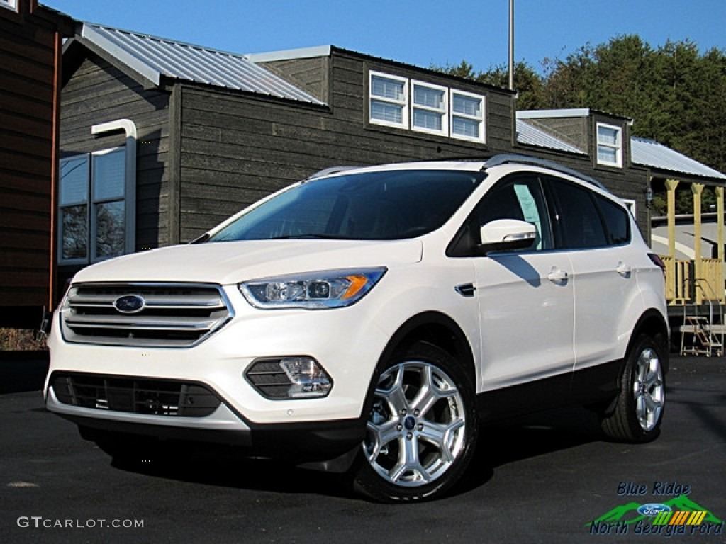White Platinum Ford Escape