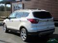 2019 White Platinum Ford Escape Titanium 4WD  photo #3