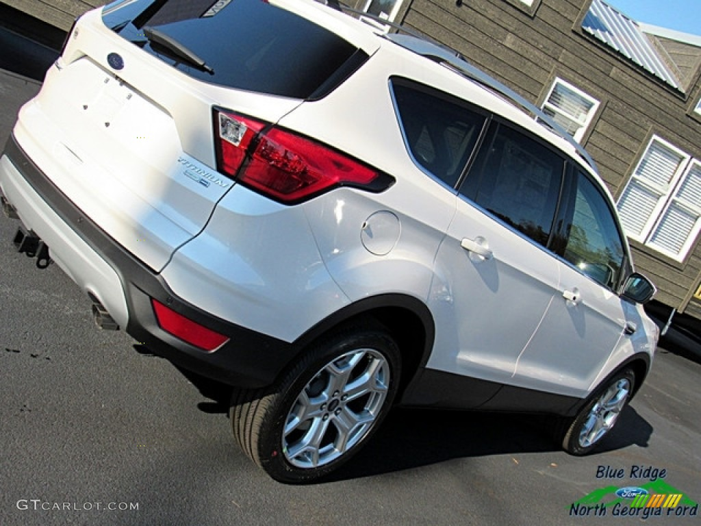 2019 Escape Titanium 4WD - White Platinum / Chromite Gray/Charcoal Black photo #31