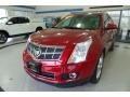 Crystal Red Tintcoat 2010 Cadillac SRX 4 V6 AWD