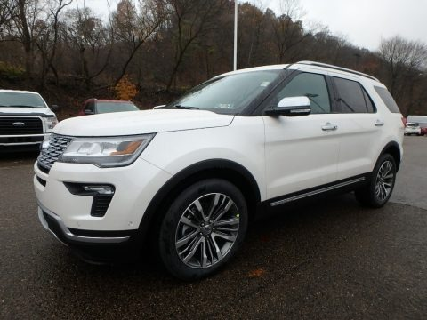 2019 Ford Explorer Platinum 4WD Data, Info and Specs