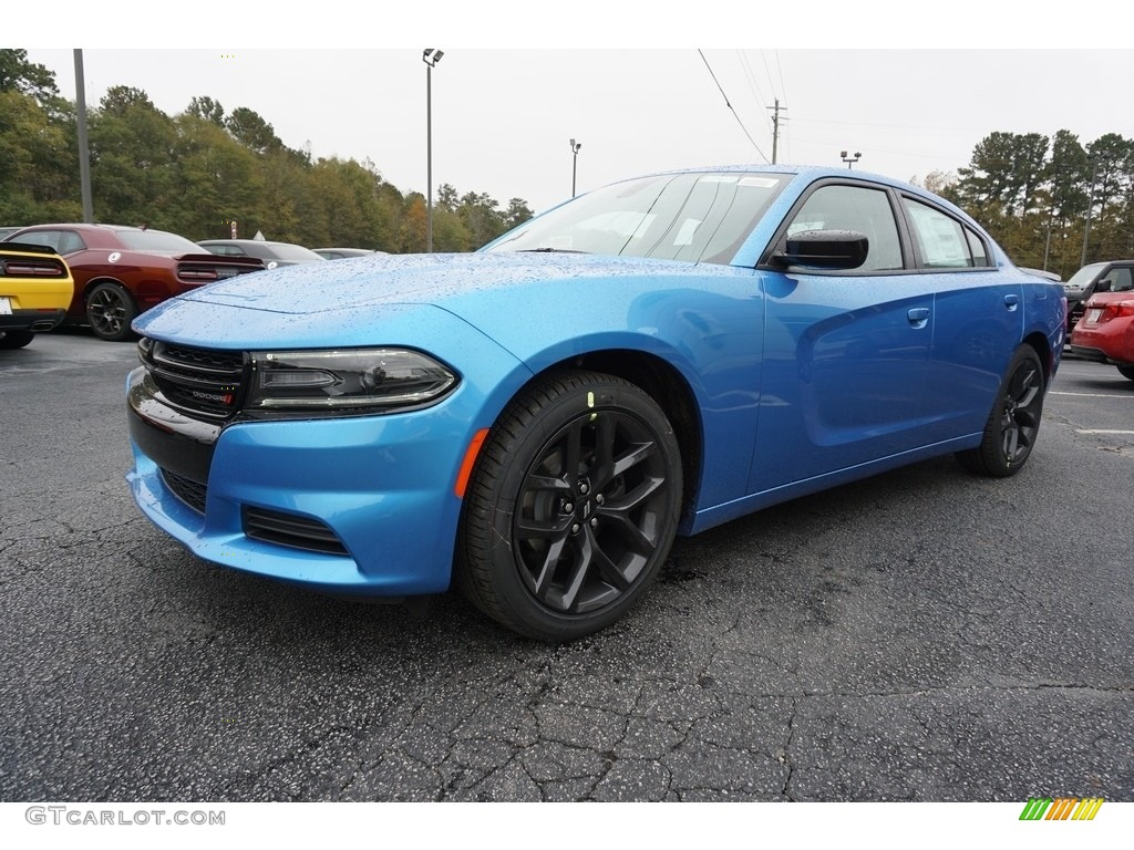B5 Blue Pearl 2019 Dodge Charger Sxt Exterior Photo 130537030 Gtcarlot Com