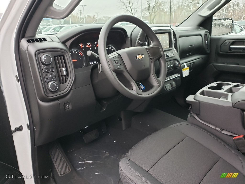 2019 Silverado 1500 Custom Crew Cab 4WD - Summit White / Jet Black photo #7
