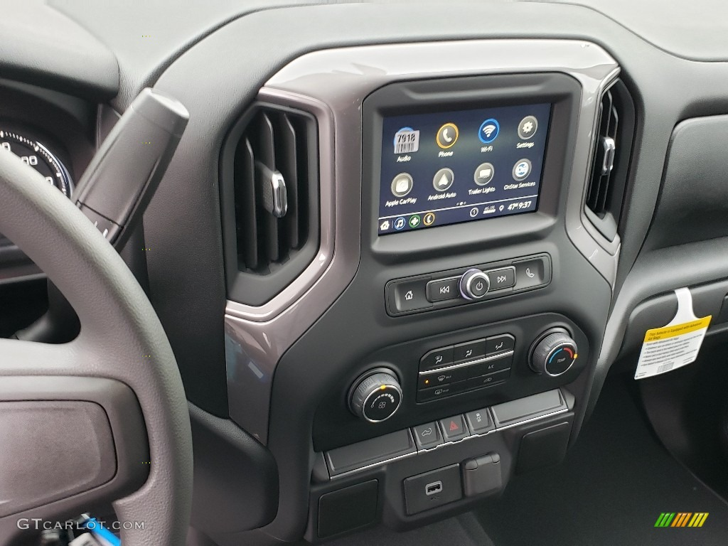 2019 Silverado 1500 Custom Crew Cab 4WD - Summit White / Jet Black photo #10