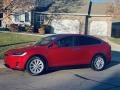 Red Multi-Coat 2017 Tesla Model X 75D
