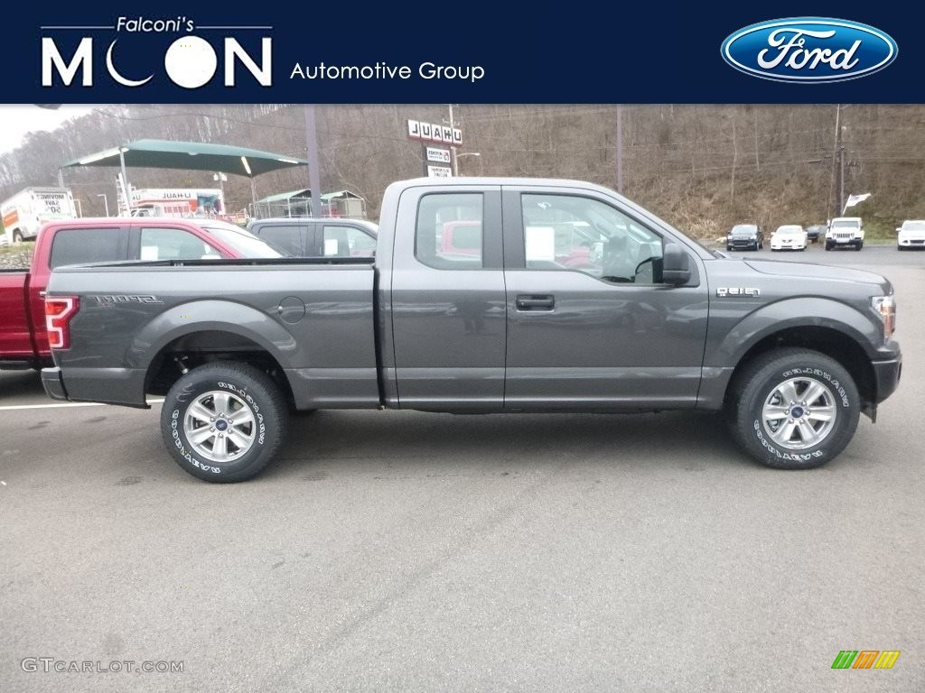 2019 F150 XL SuperCab 4x4 - Magnetic / Earth Gray photo #1