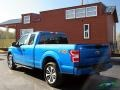 2019 Velocity Blue Ford F150 STX SuperCab 4x4  photo #3