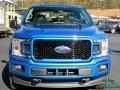 2019 Velocity Blue Ford F150 STX SuperCab 4x4  photo #4