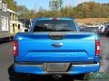 2019 Velocity Blue Ford F150 STX SuperCab 4x4  photo #5