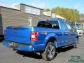 2019 Velocity Blue Ford F150 STX SuperCab 4x4  photo #6