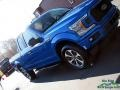 2019 Velocity Blue Ford F150 STX SuperCab 4x4  photo #31