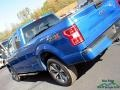 2019 Velocity Blue Ford F150 STX SuperCab 4x4  photo #33