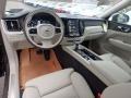 2019 XC60 T6 AWD Inscription Blonde Interior