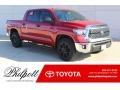 2019 Barcelona Red Metallic Toyota Tundra TSS Off Road CrewMax #130543895