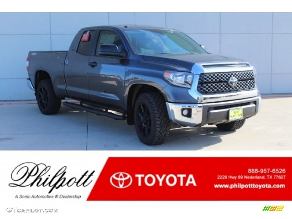 2019 Tundra TSS Off Road Double Cab - Magnetic Gray Metallic / Graphite photo #1