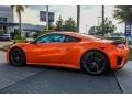 2019 NSX  Thermal Orange Pearl
