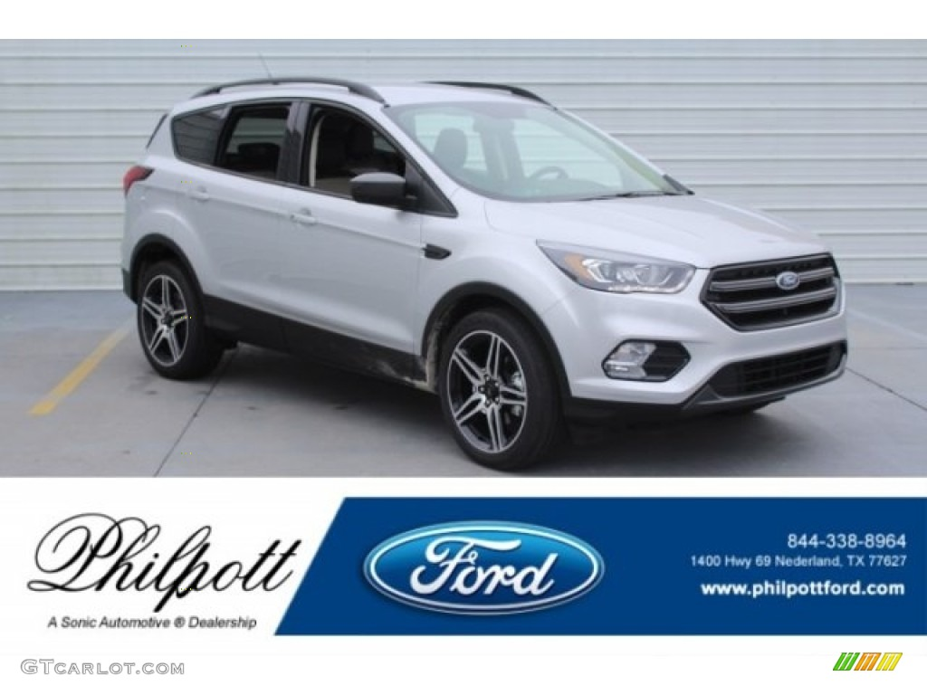 Ingot Silver Ford Escape